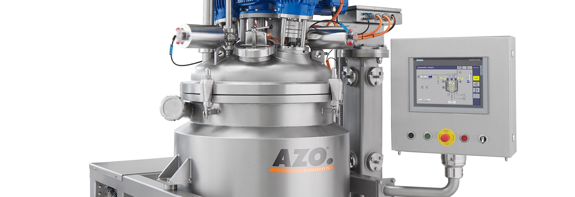 AZO dough mixers are versatile and can be used to manufacture wet doughs, pre-ferments and sourdoughs
