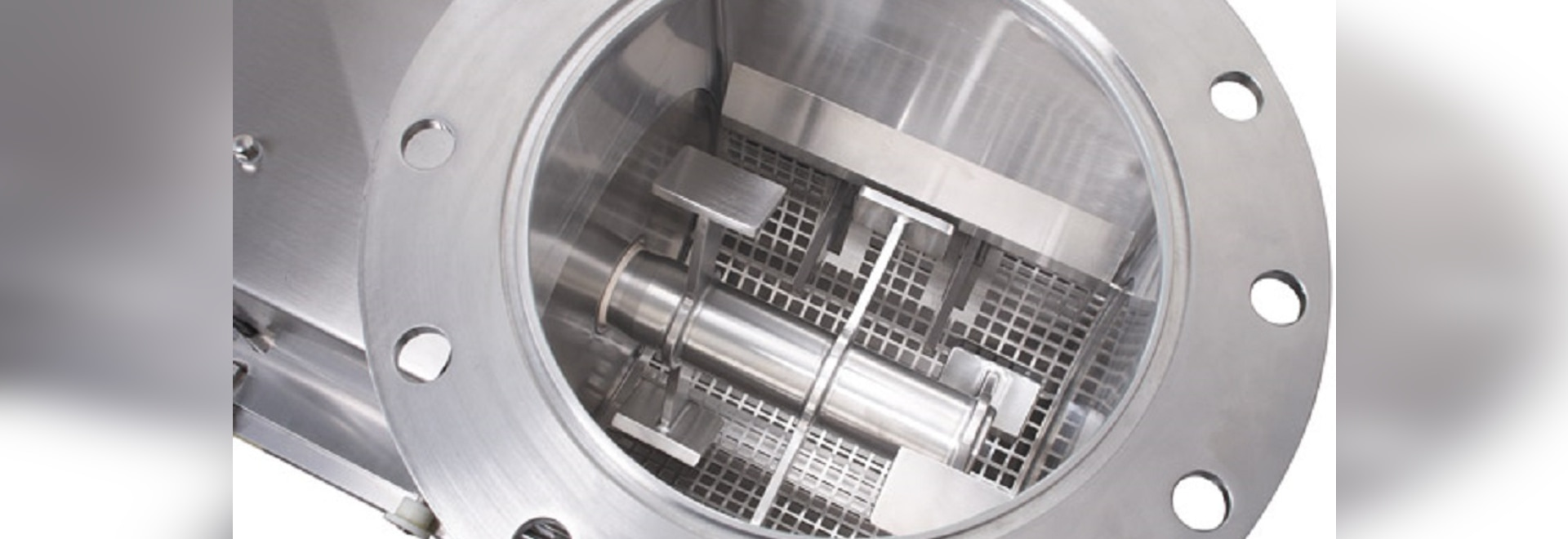 AZO Lump breaker complies with highest requirements to hygiene and cleaning