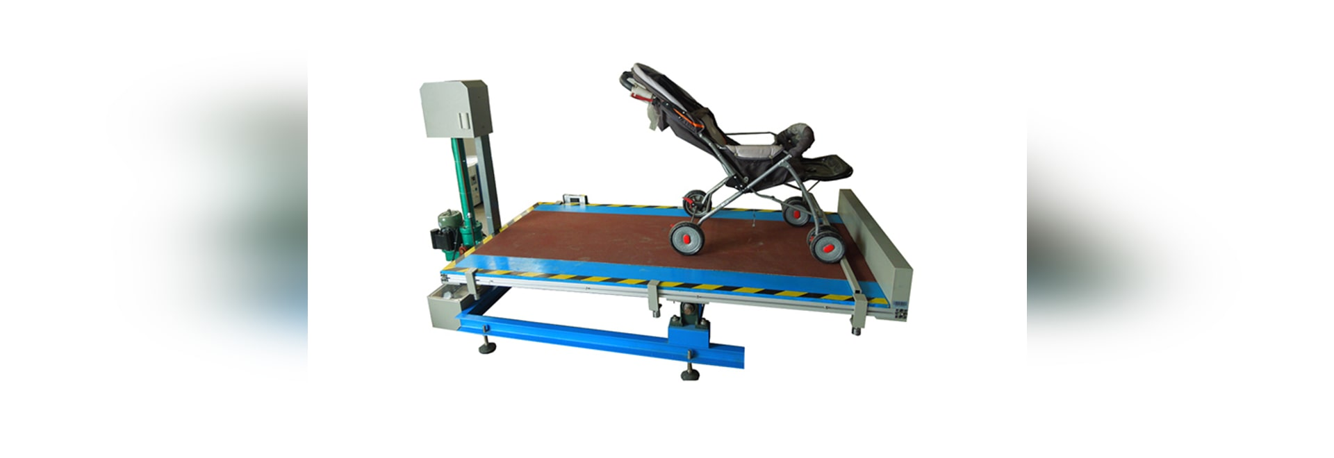 The baby stroller test machine