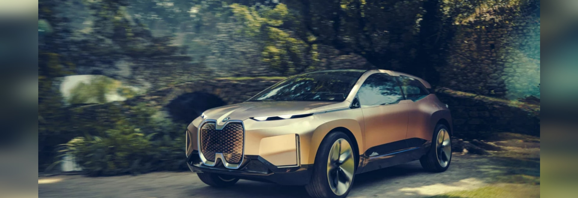 BMW's Vision iNEXT Concept Car Features a Sensor-Packed 3D Printed Grille