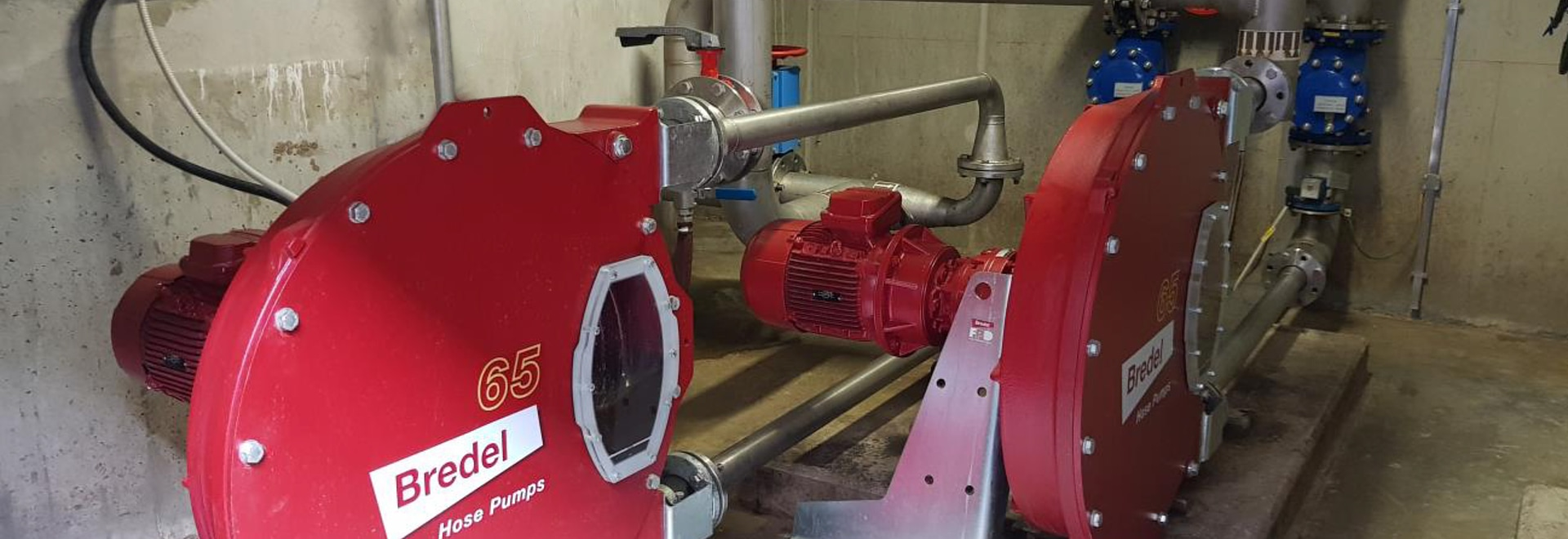 Bredel pumps save Slovenian waste water treatment plant time and money