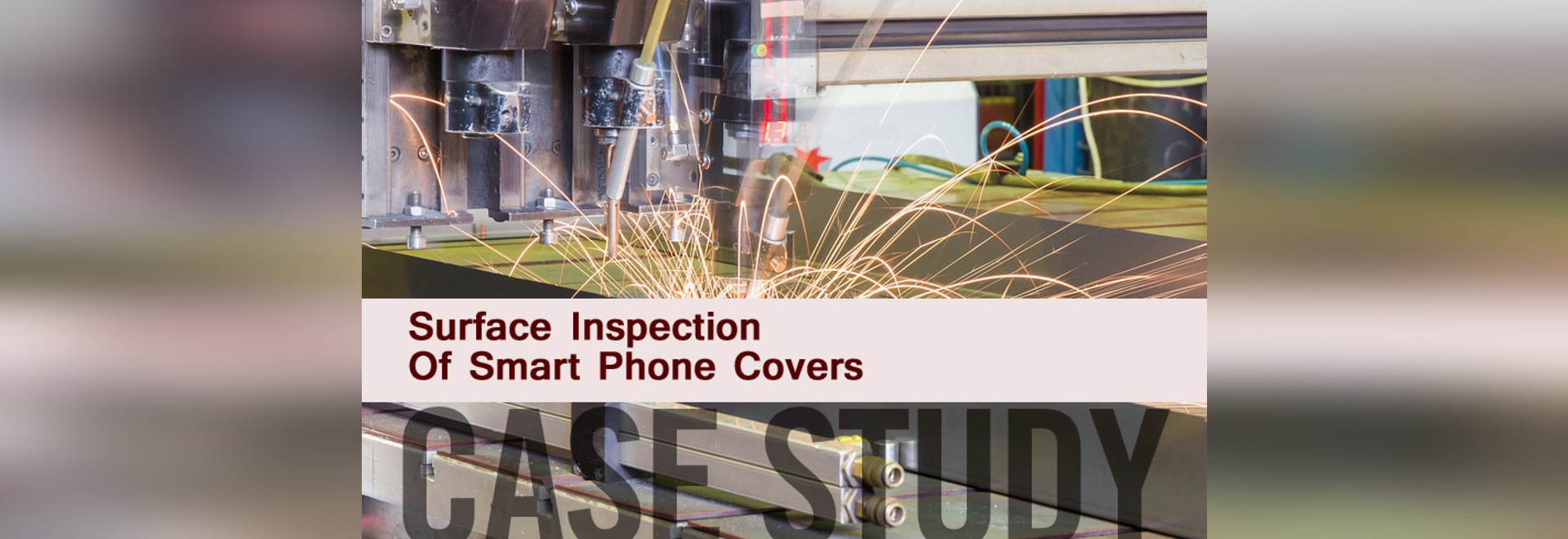 Case Study surface inspection smart phone covers