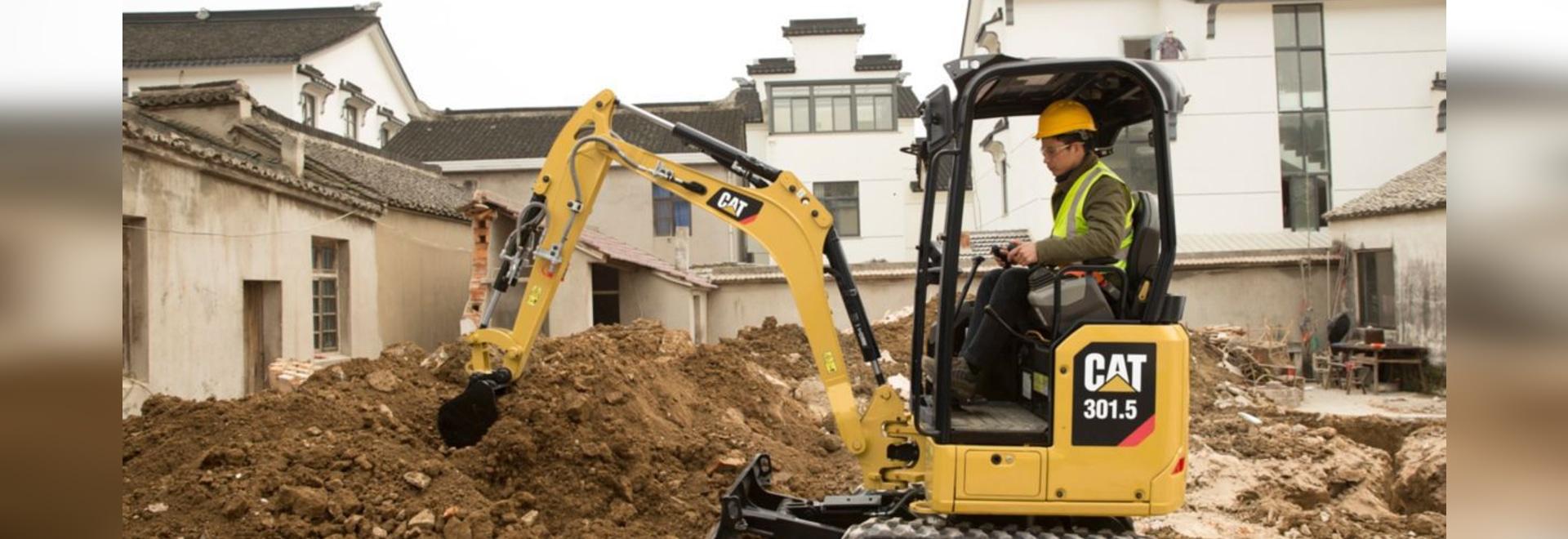 Caterpillar Next Generation 1- to 2-ton Excavators
