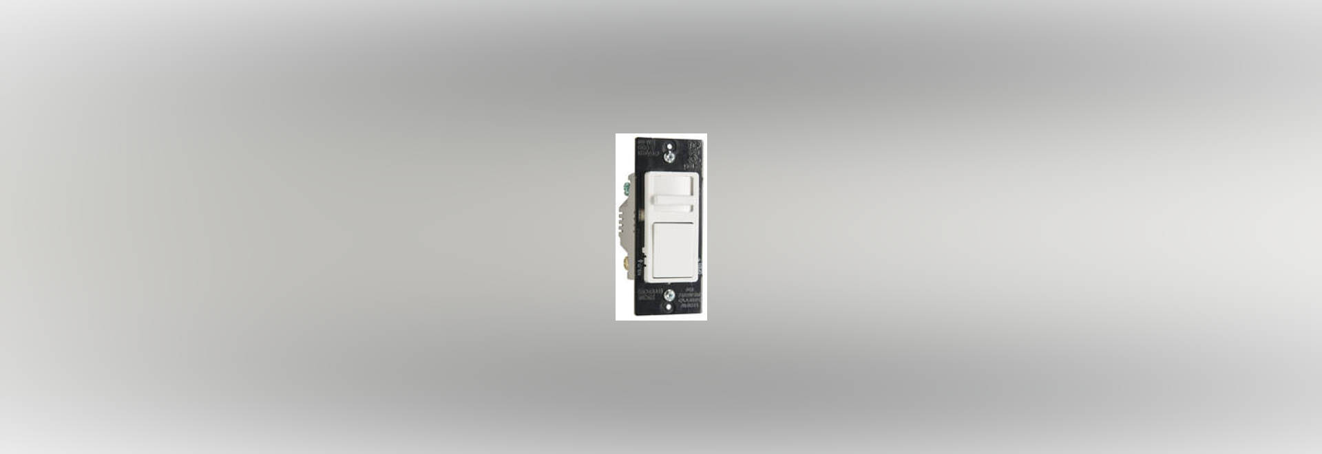 Dimmer Switches work with LED, CFL, and incandescent lighting ...