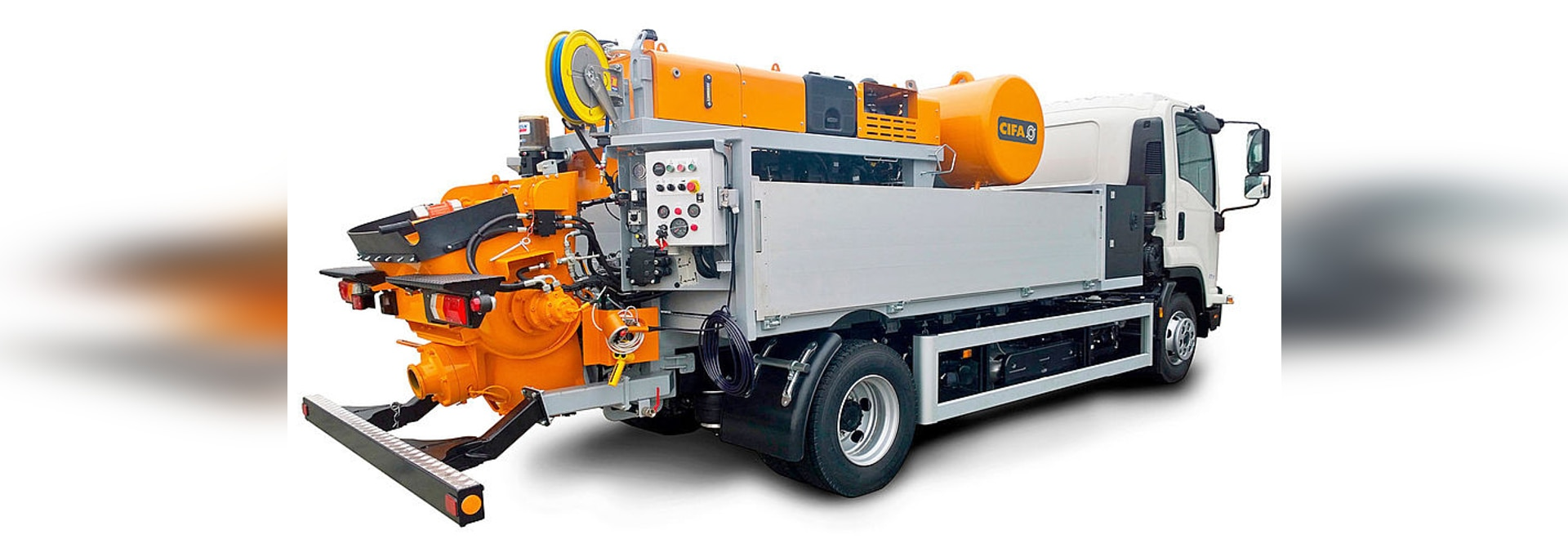 "CIFA:A ""different"" truck mounted pump"