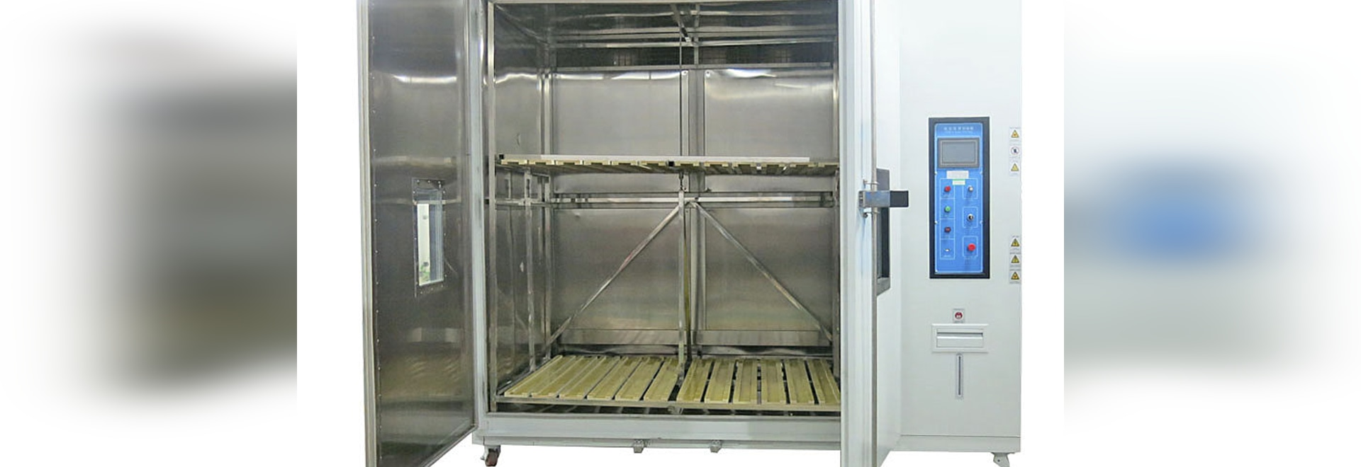 Climatic chambers for photovoltaics modules testing - (ASLi Test Equipment & CE certification)