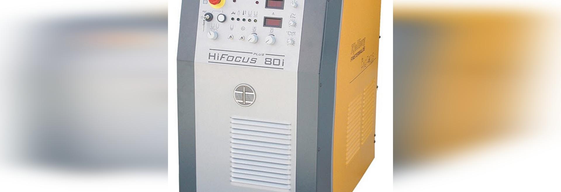 CNC-controlled / mechanised plasma technology - HiFocus 80i