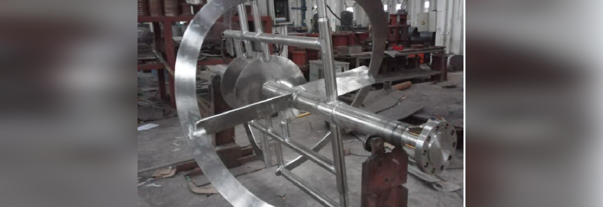 Combined Impeller for High Density Material