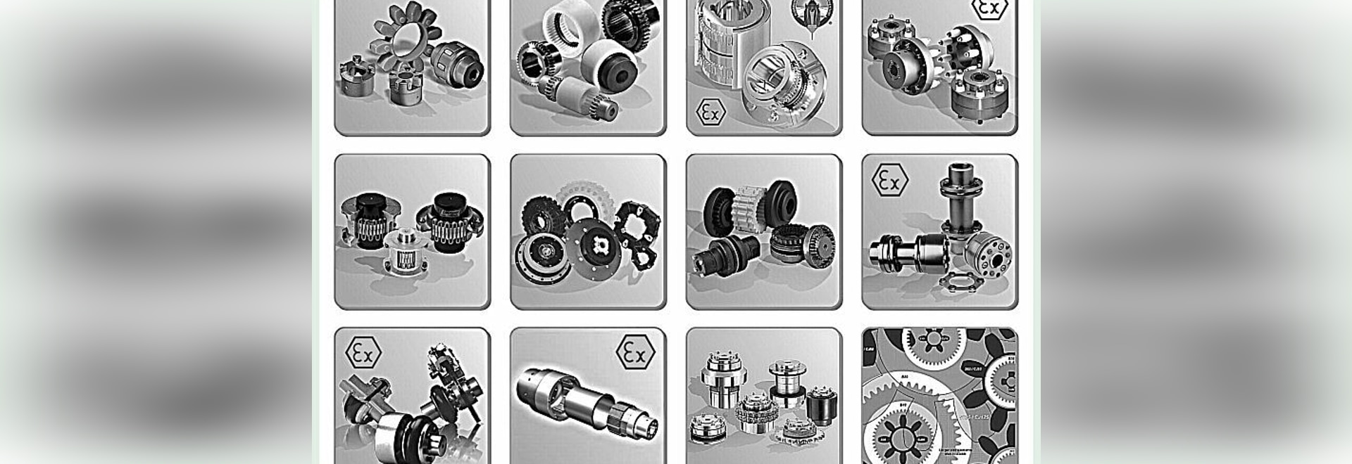 Couplings for mechanical power transmission