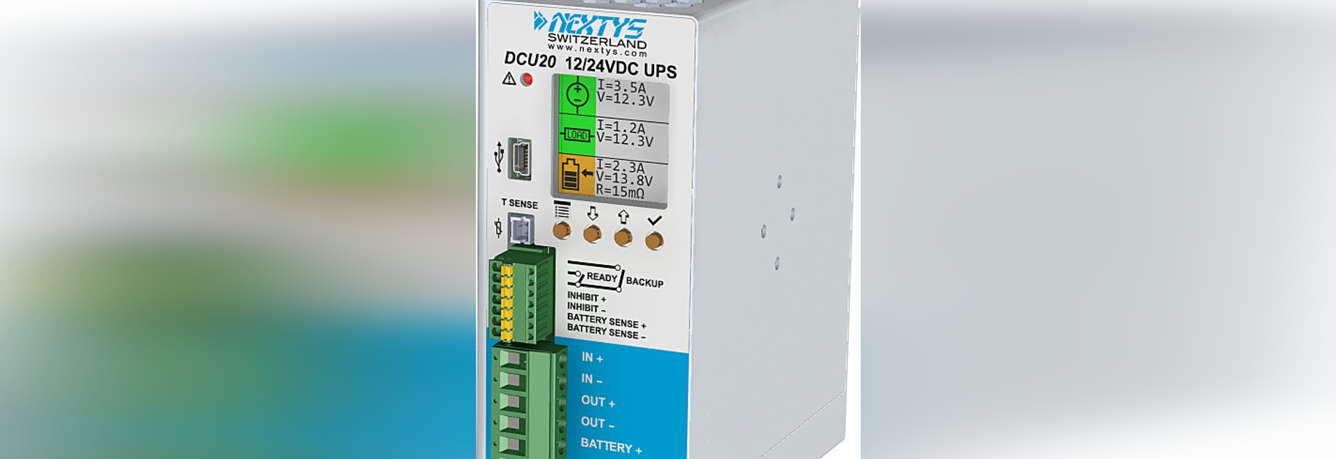 Dcu20 A New Approach For 12 24v Dc Ups Nextys Sa World Technical Power Supply With 138v And 20a