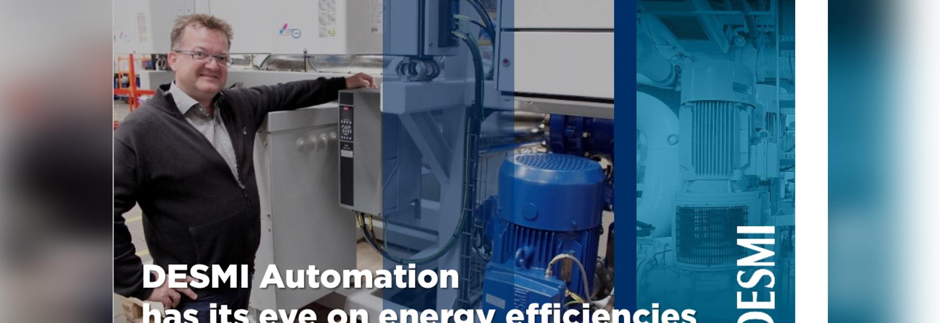 DESMI Automation has its eye on energy efficiencies