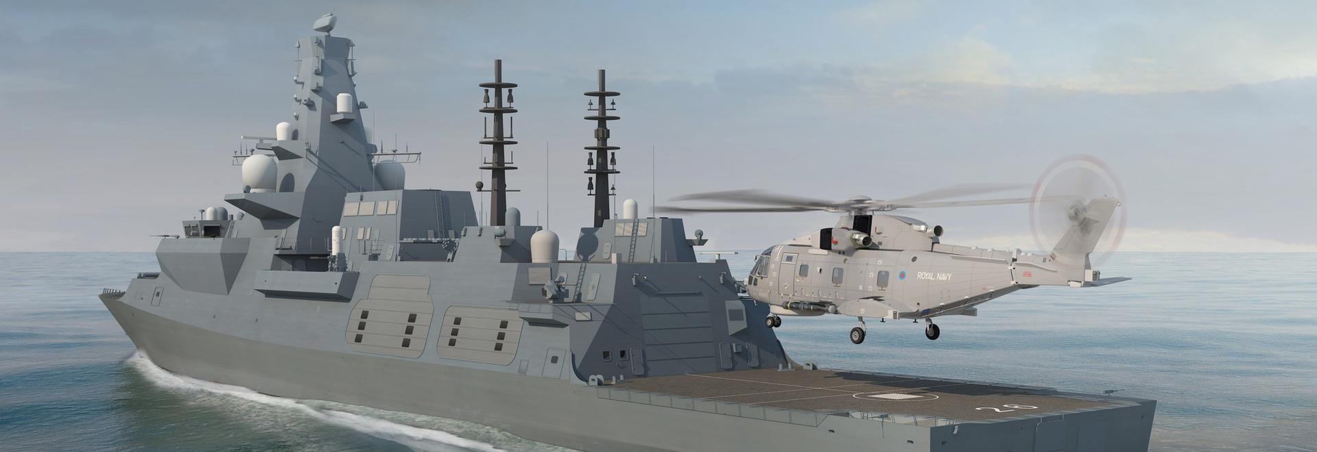 DESMI Whole Ship Pump Integrator on Board UK Royal Navy's New Type 26 Frigates