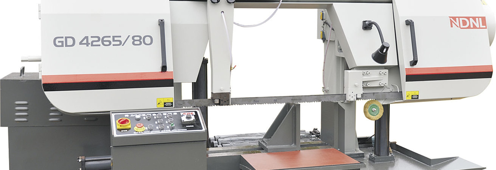 Double-column horizontal metal band sawing machine-NDNL