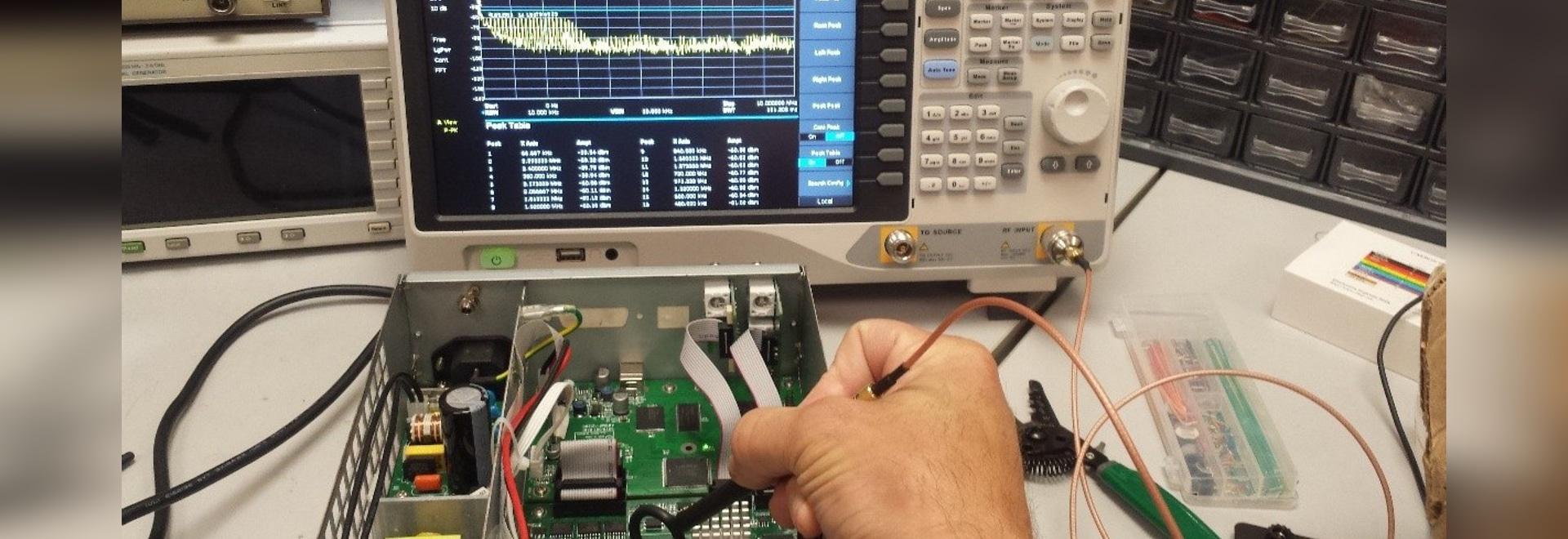 Electromagnetic Compliance Pre Test Basics Shenzhen Electronic Circuit