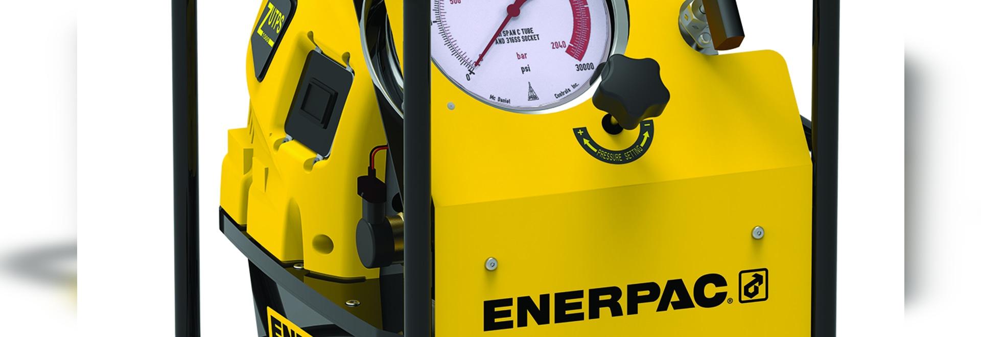 Enerpac ZUTP1500-S Series Electric Tensioning Pump