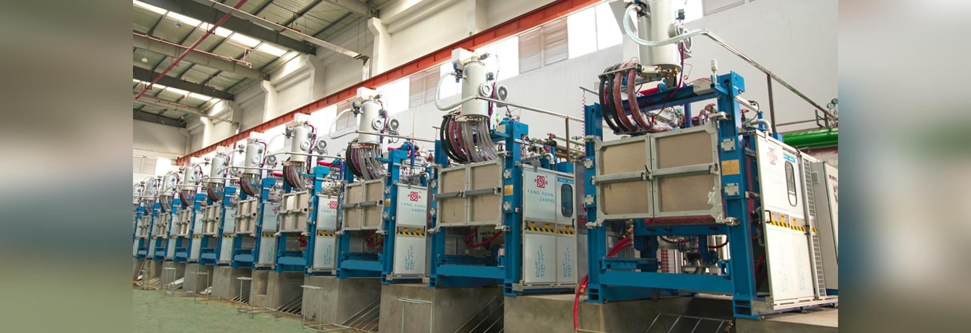 EPS plastic foam molding machine / for expanded polystyrene / for expanded polypropylene