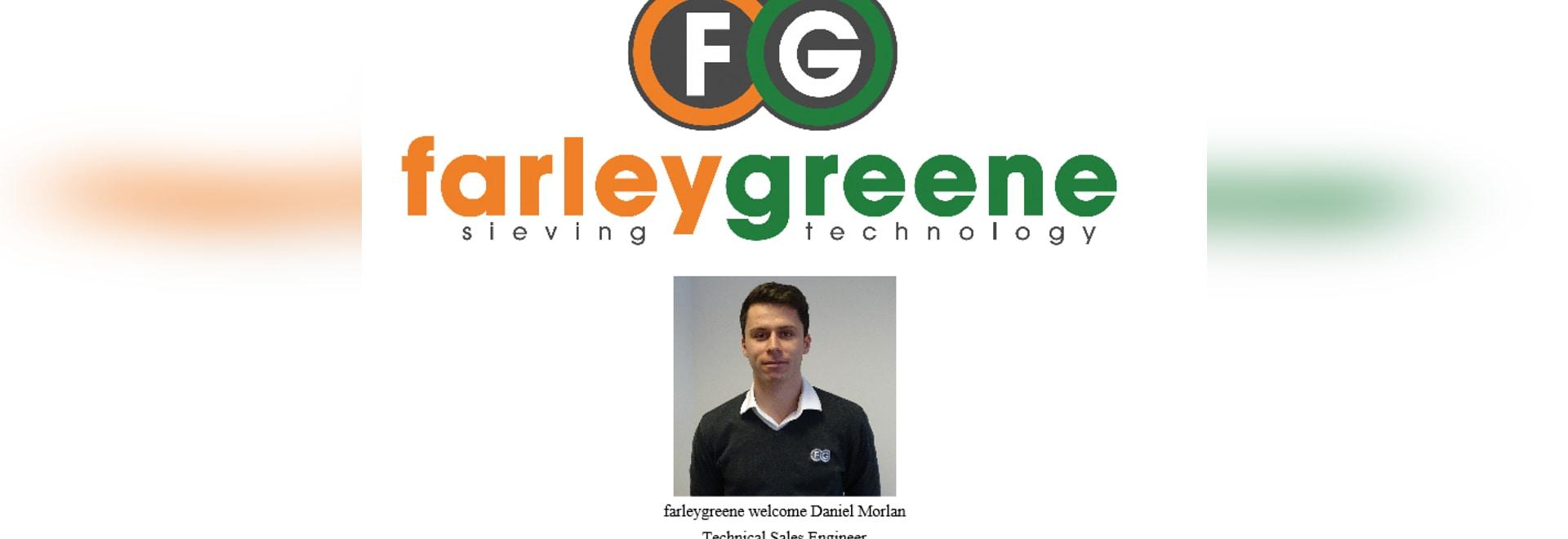 farleygreene welcome Daniel Morlan