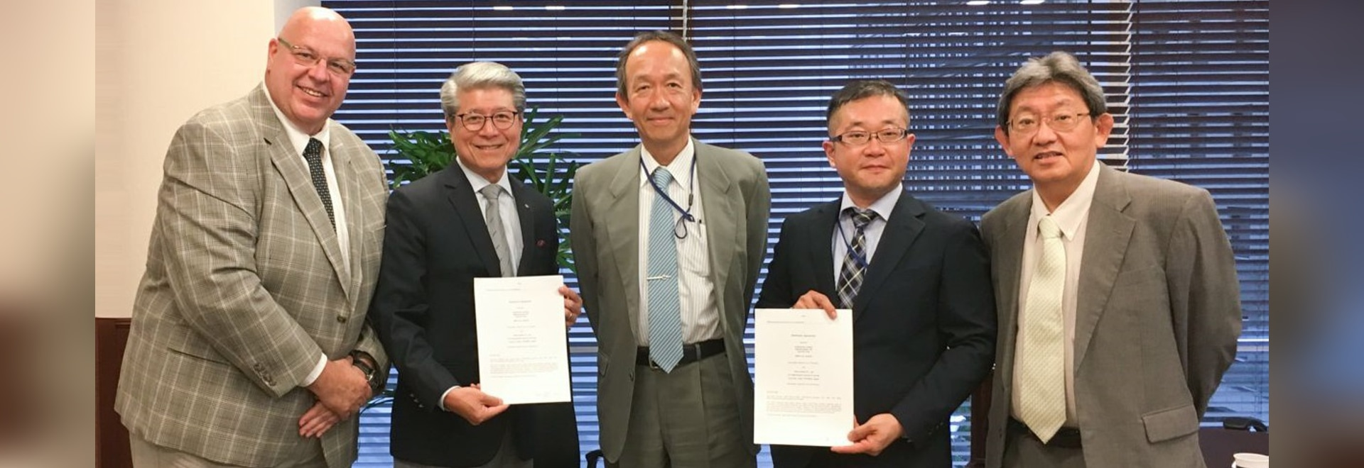 FerRobotics and  TAIHEI BOEKI Co. Ltd signing distributor agreement for Jaoan