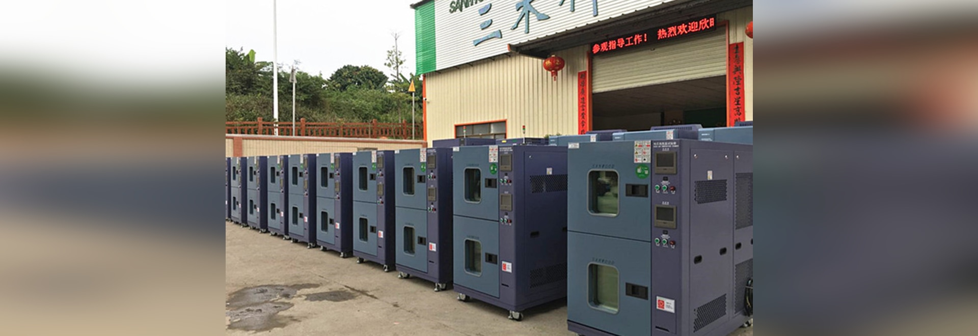 The First 20Pcs battery high low temperature test chamber of BMW company are ready to be shipped on 16th, April