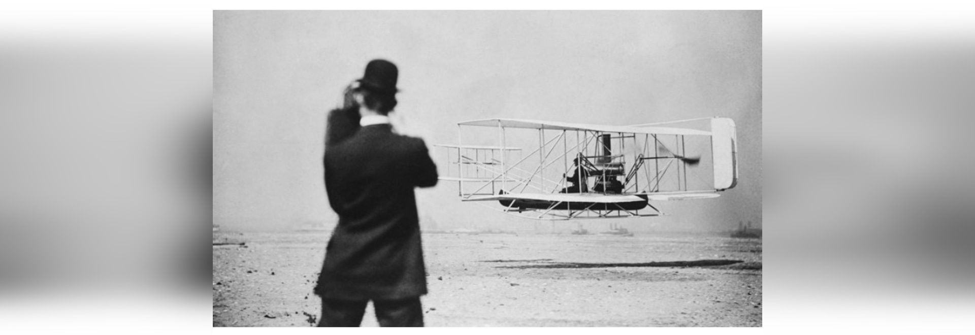 The first flight of an ion-drive aircraft could prove as significant as the feats of the Wright brothers.Credit: Library of Congress/Getty