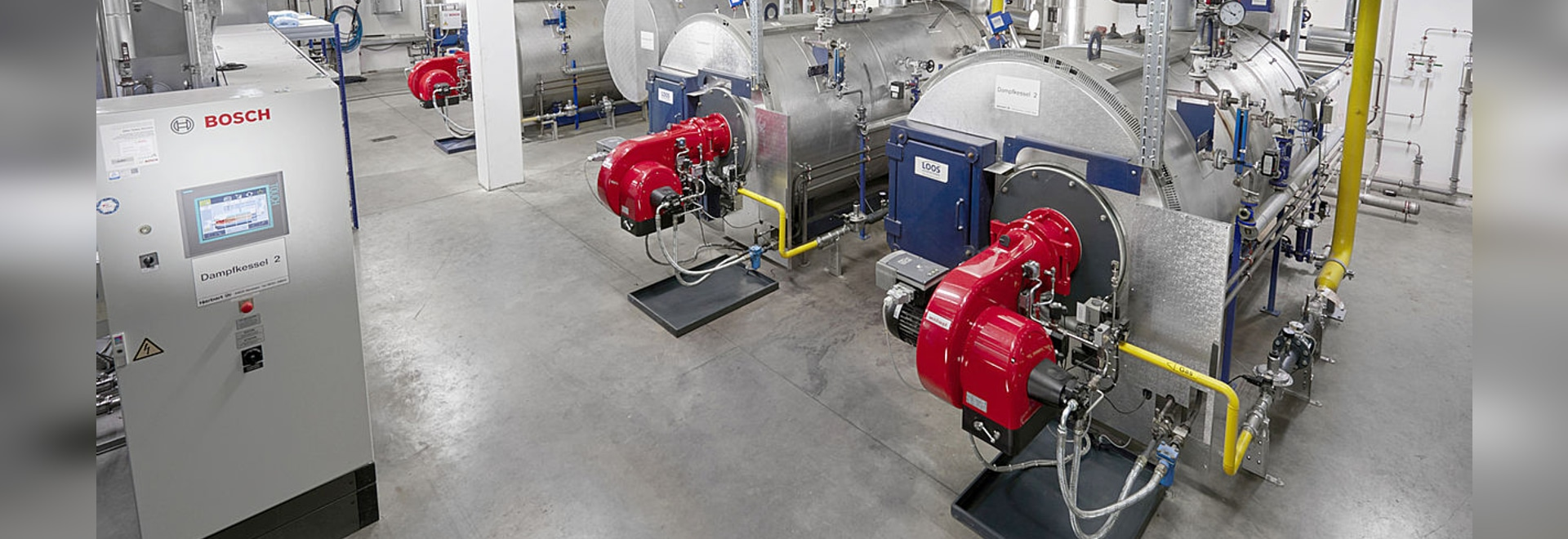 Fleischwaren Sutter modernises process heat supply with boiler technology from Bosch