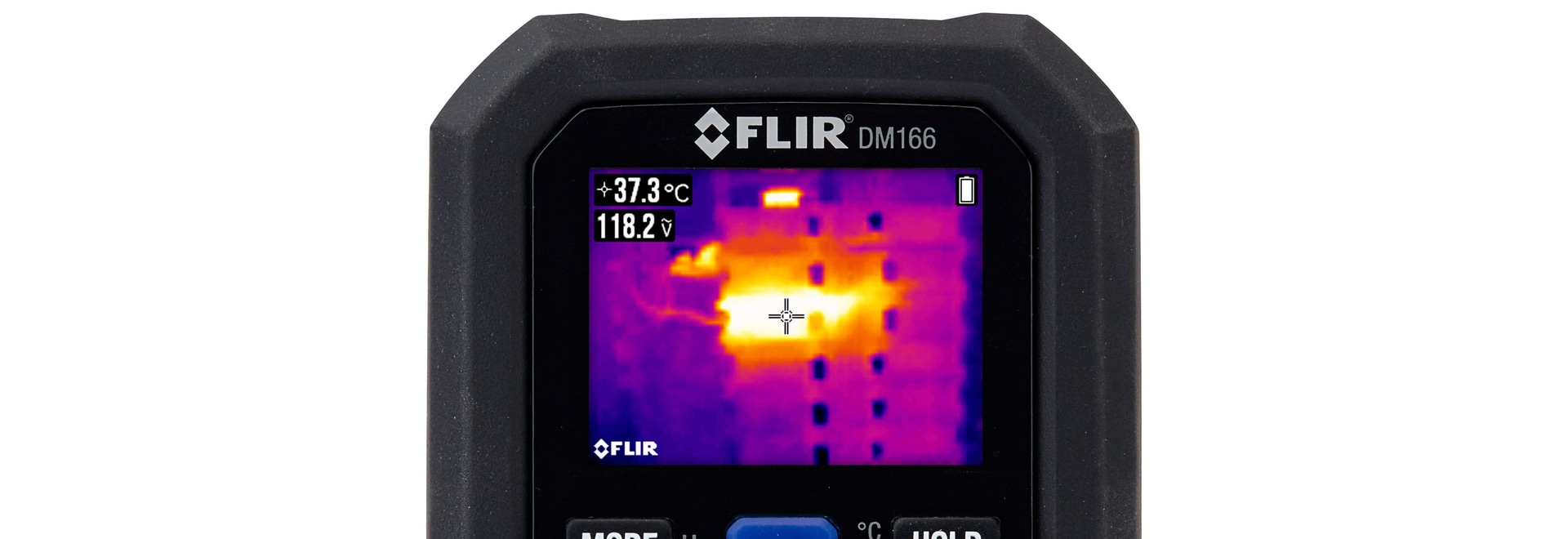 FLIR DM166 thermal imaging multimeter with Infrared Guided Measurement