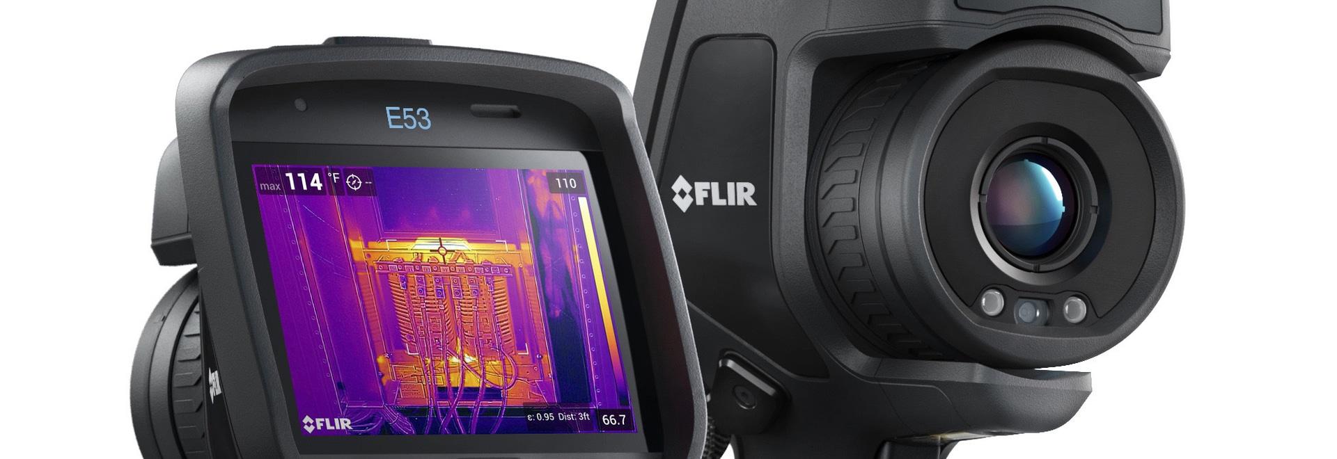 FLIR E53 thermal imaging camera
