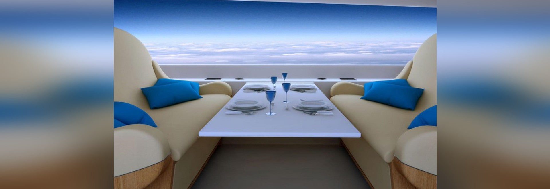 FORGET WINDOWS: SUPERSONIC JET OPTS FOR LIVE-STREAMING PANELS