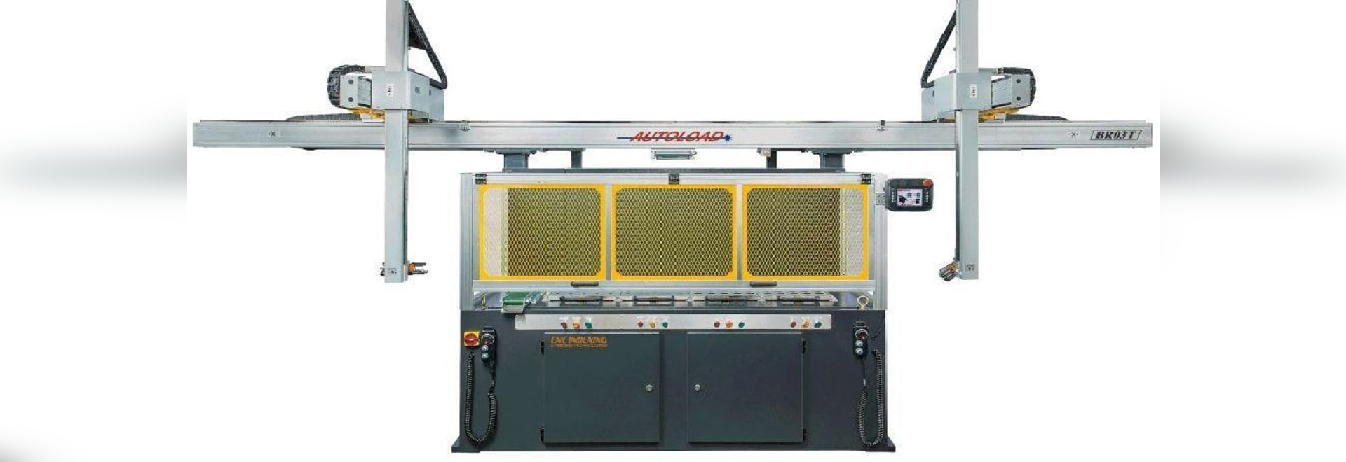 Gantry Loading System Can Quickly Load Twin-Spindle Lathes