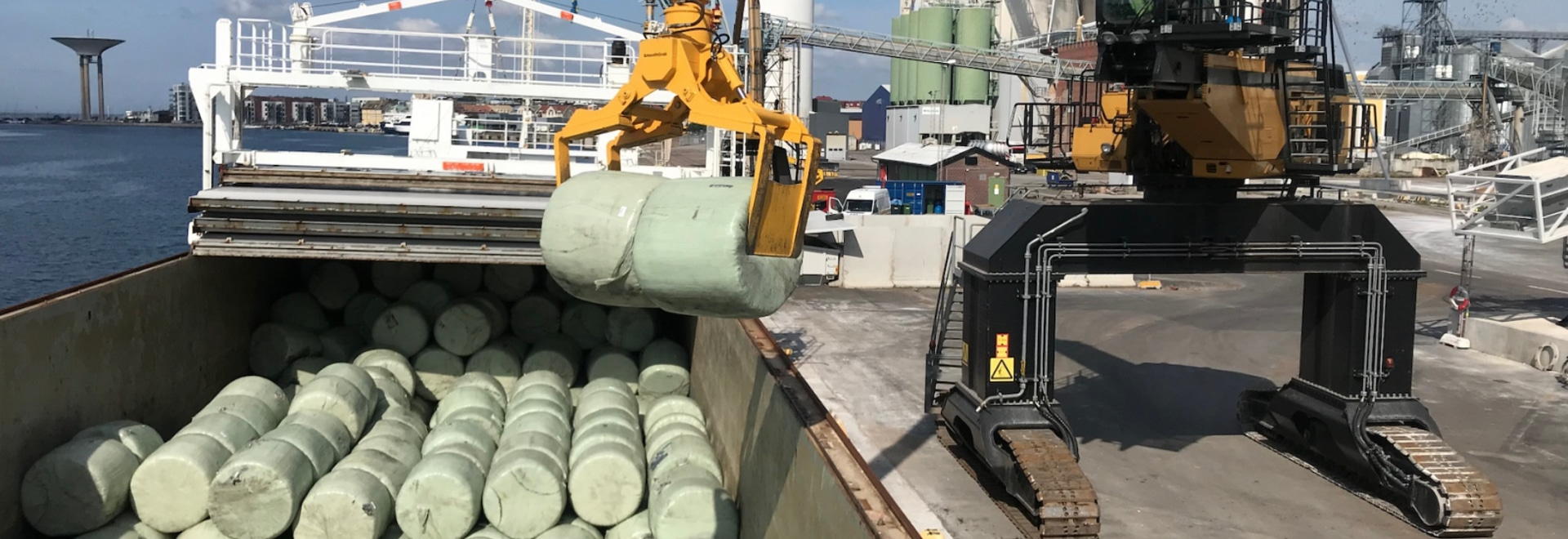 Geminor Begins Bulk RDF Shipments to Swedish Waste to Energy Plant
