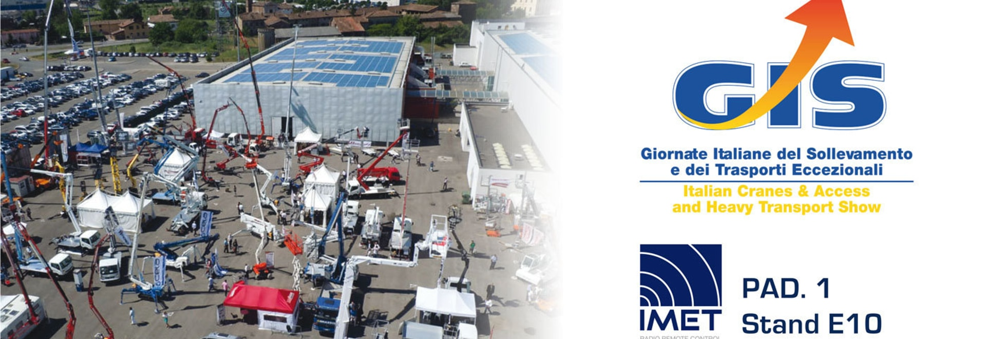 GIS exhibition dedicated to lifting, handling and exceptional transports in Italy