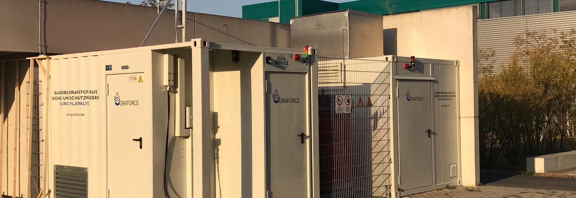 Graforce plasmalysis demo plant in Berlin-Adlershof (Photo: Business Wire)