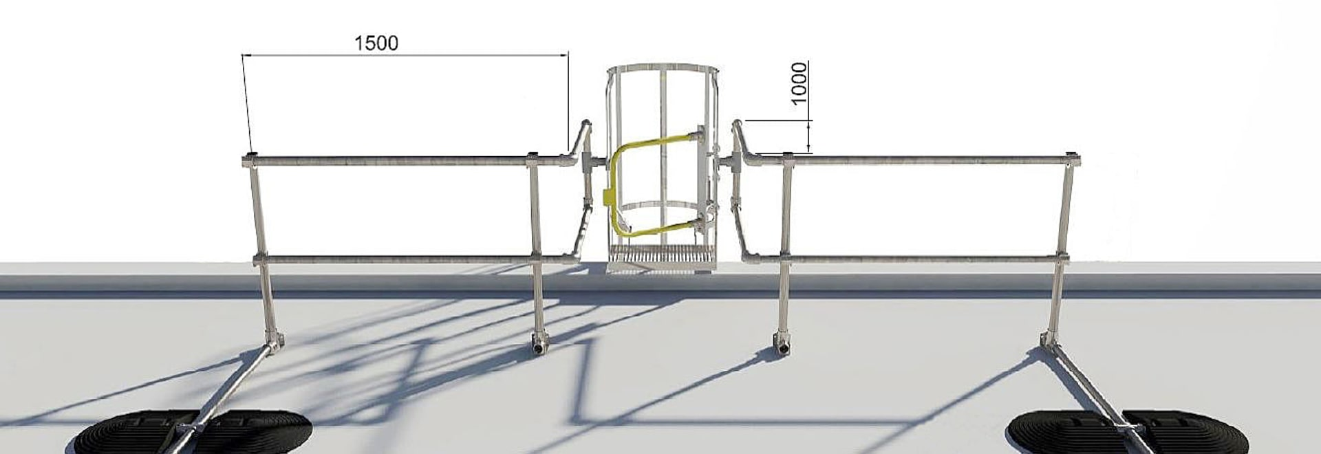 Guard Rail Kit for Ladder Access Points - New Product Launch