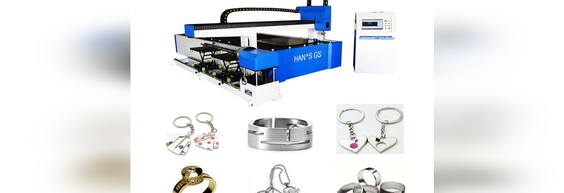 HANS GS LASER GS-LFTP SERIES FIBER LASER CUTTER ARE EXCELLENT PERFORMACNCE IN THE JEWELRY PROCESSING INDUSTRY!