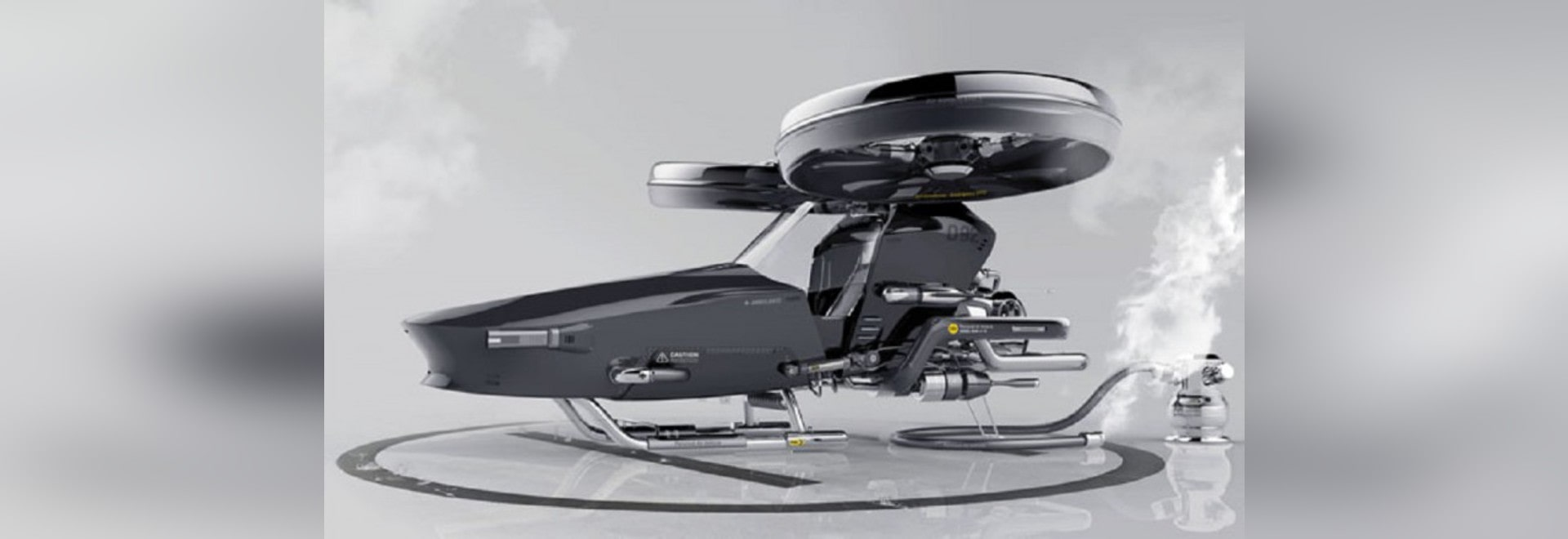 THE HELIVEHICLE EMERGENCY HELICOPTER : EMERGENCY VEHICLE OF THE FUTURE!