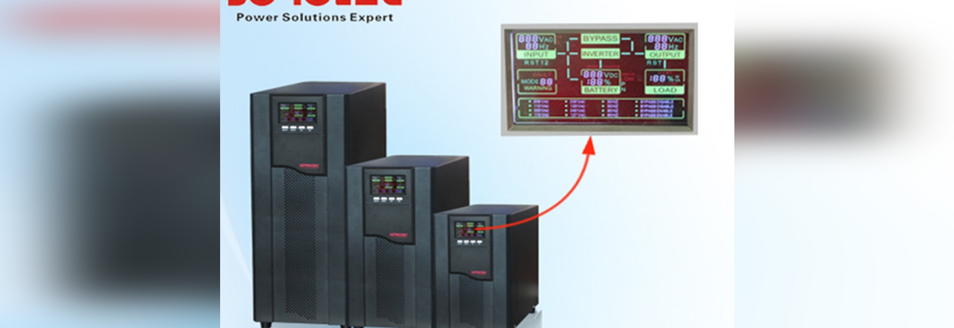 High Frequency Online UPS Power Supply 1KVA-20KVA