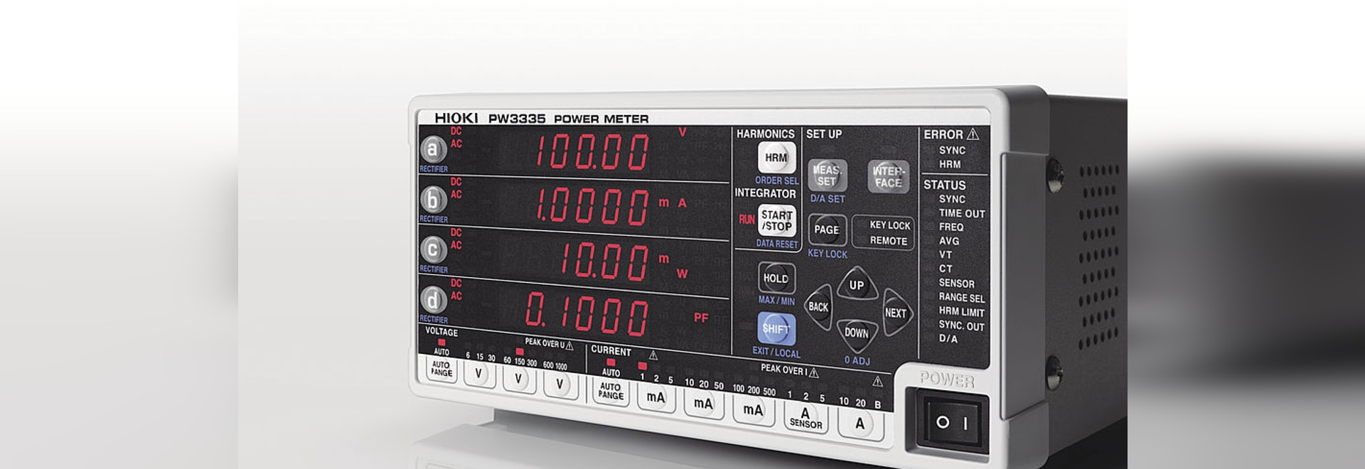 Hioki Launches Power Meter Pw3335 With Compliance To Iec62301 For Audio Standby