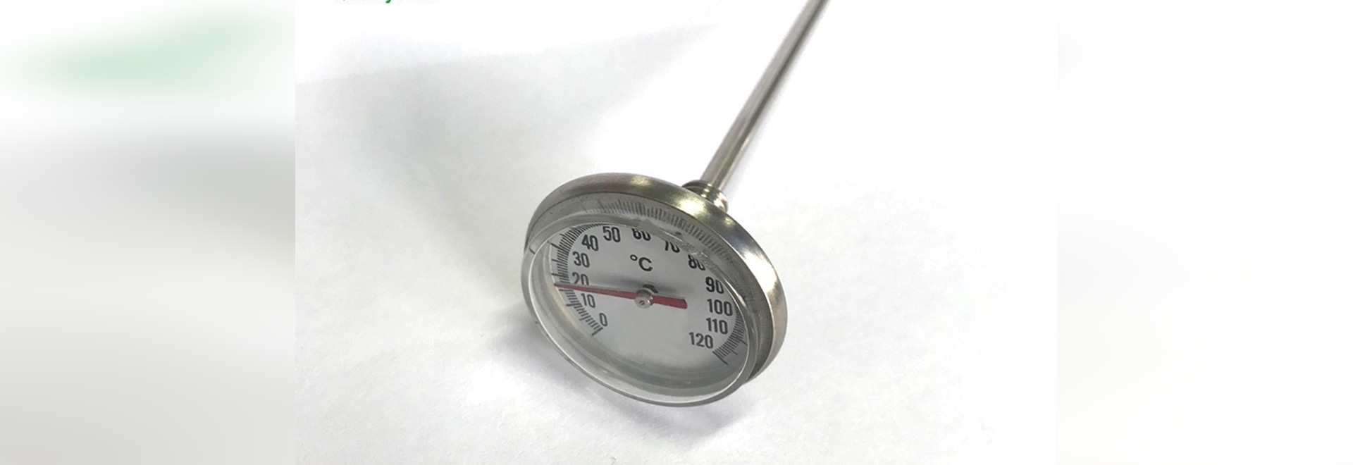 How to get the correct temperature of the bi-metal thermometer