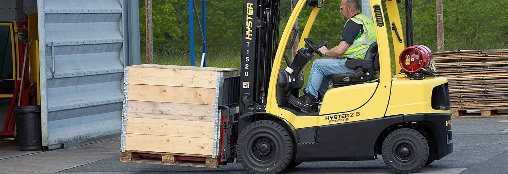 Hyster reveals 5 reliability checks for ICE forklift users