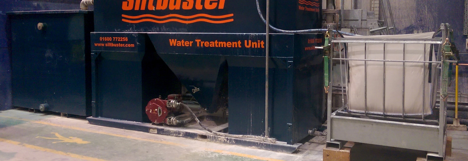 Image supplied by Siltbuster - leaders in the field of concrete wastewater solutions