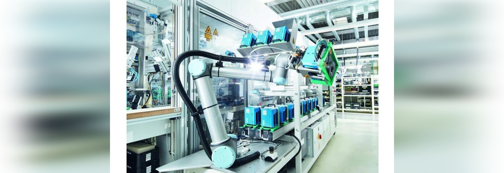 Improved safety for workers near robots