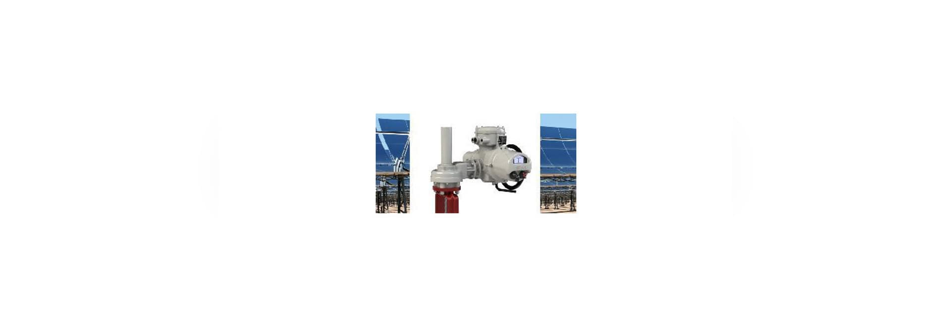 Increased Rotork valve automation improves operations at solar power