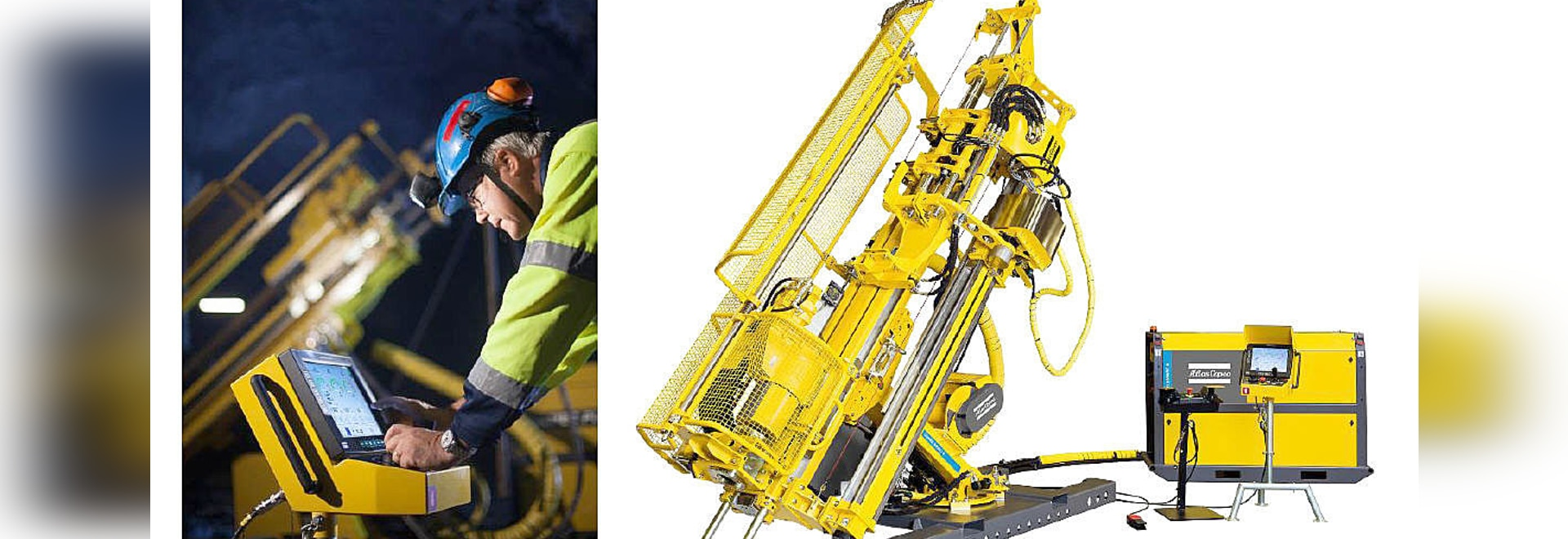 Increased safety in underground drilling with Atlas Copco's new Diamec Smart series