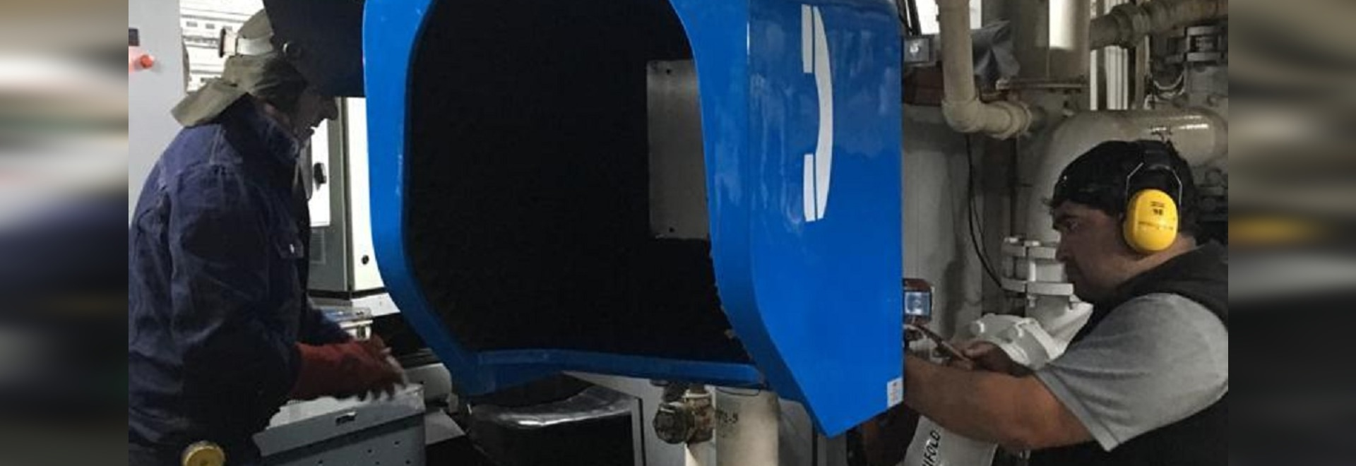 J&R Acoustic Phone Hood for Ship Engine Room Project In Chile