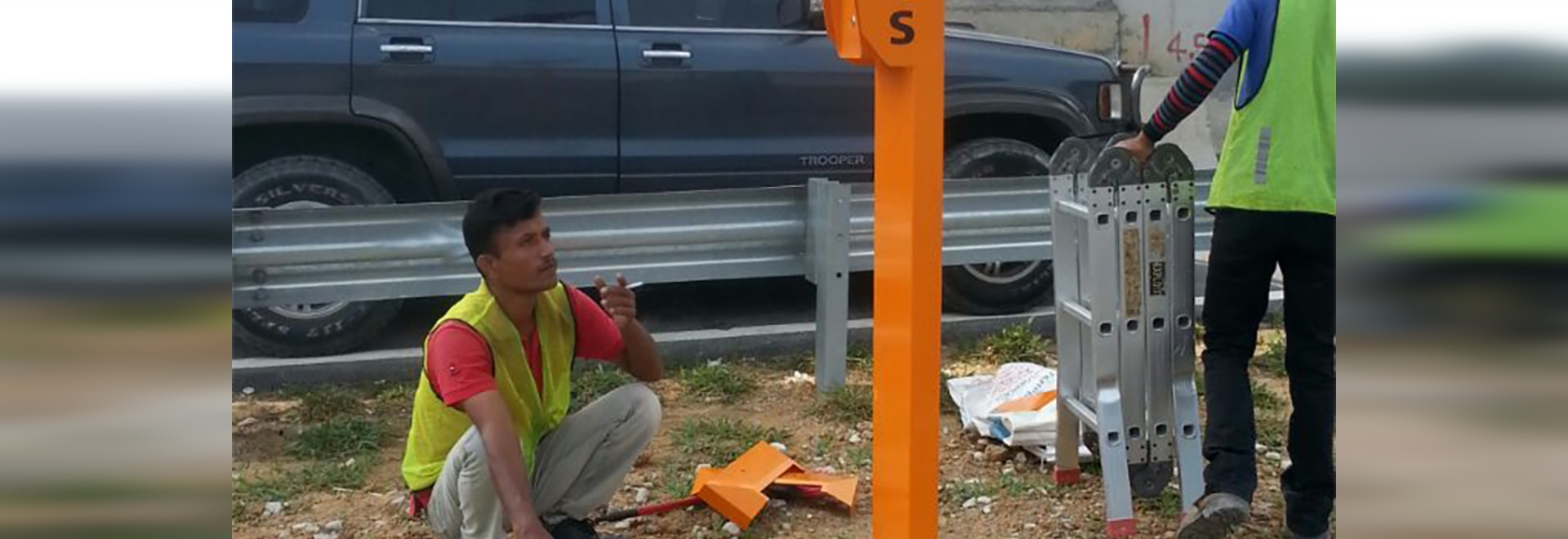 J&R ERT(Emergency Roadside Telephone) for highway application in Malaysia