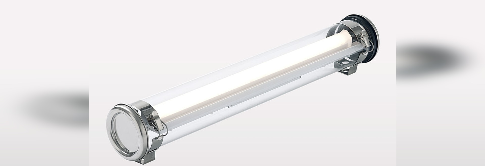 JAMIN 100, the compact LED luminaire for ATEX zones 2, 21 and 22.