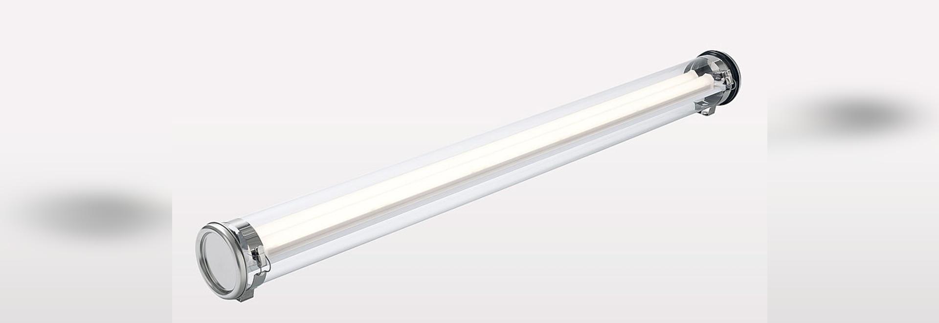 JAMIN 133, the hermetic luminaire for ATEX Zones 2, 21 and 22