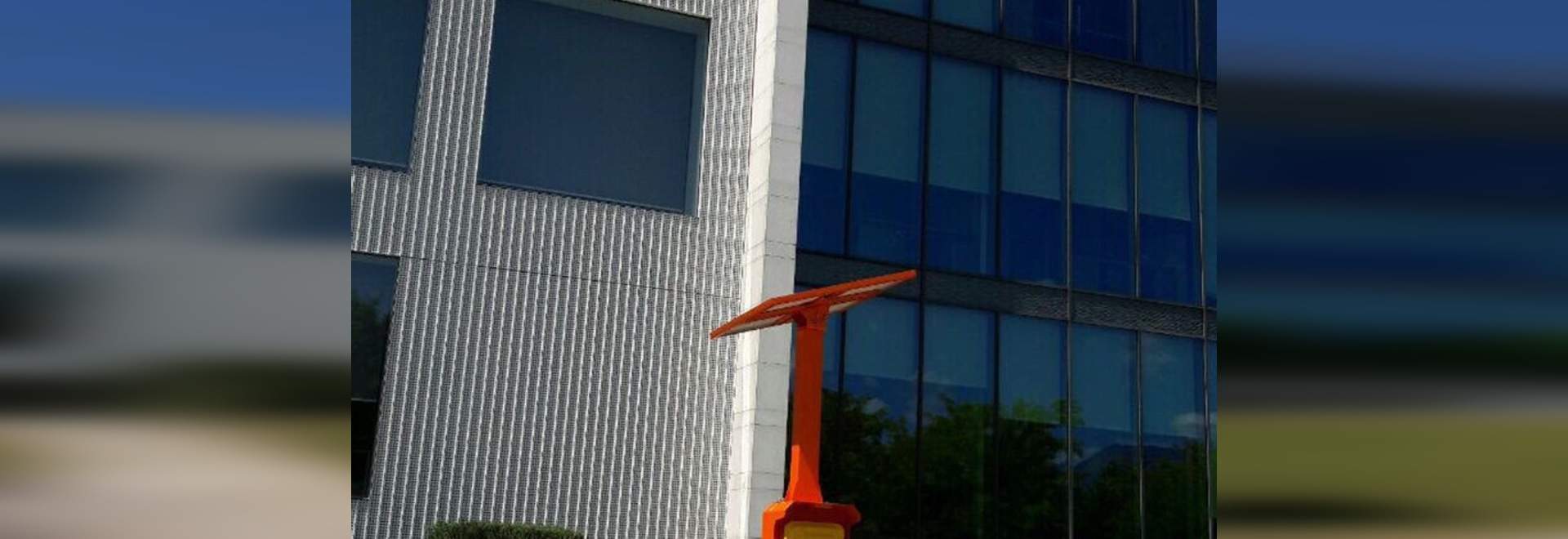 JR outdoor telephone installed in front of our clients HQ in Slovenia