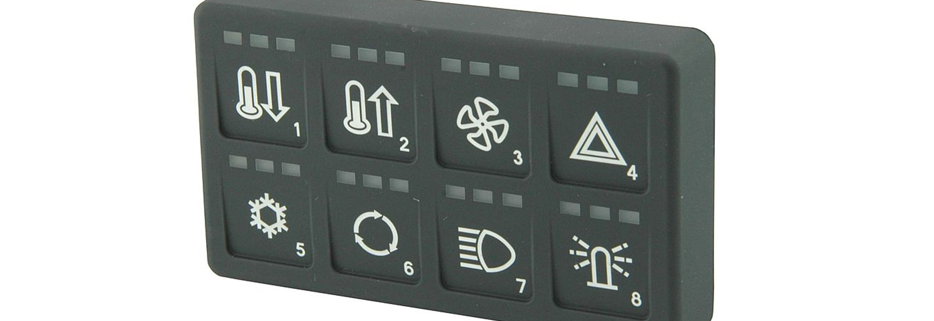 Keypad with can & modbus interface