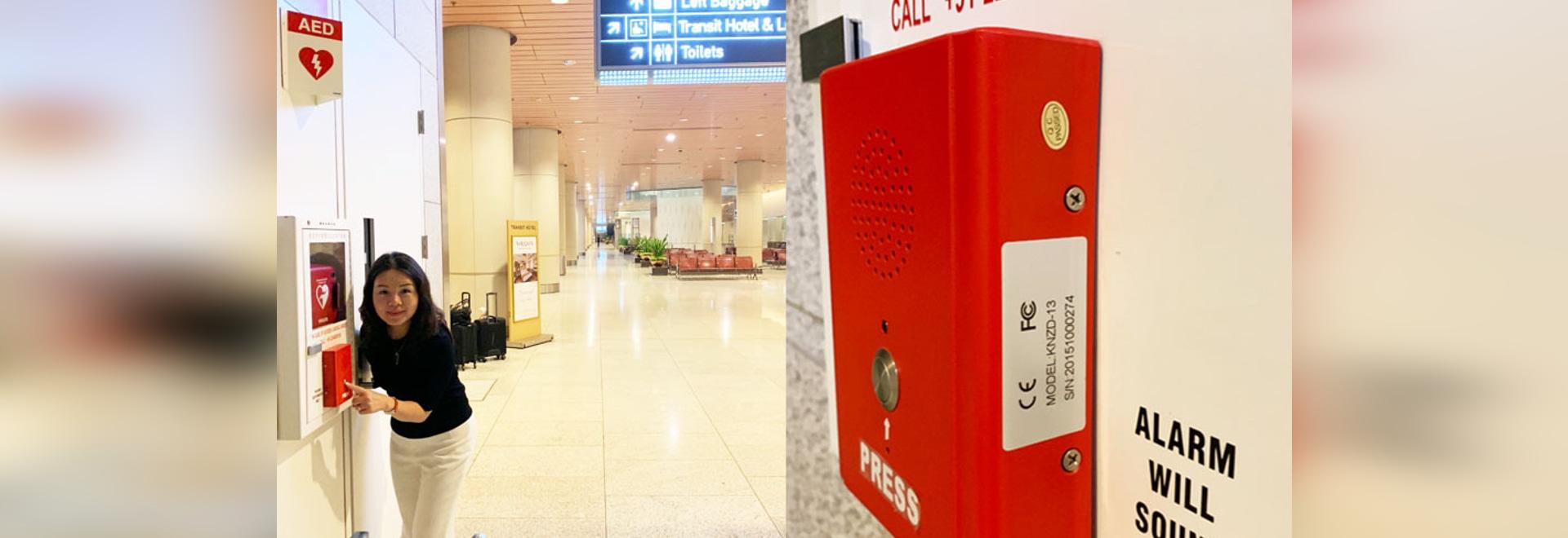 KNTECH Emergency Intercom System for Mumbai Airport
